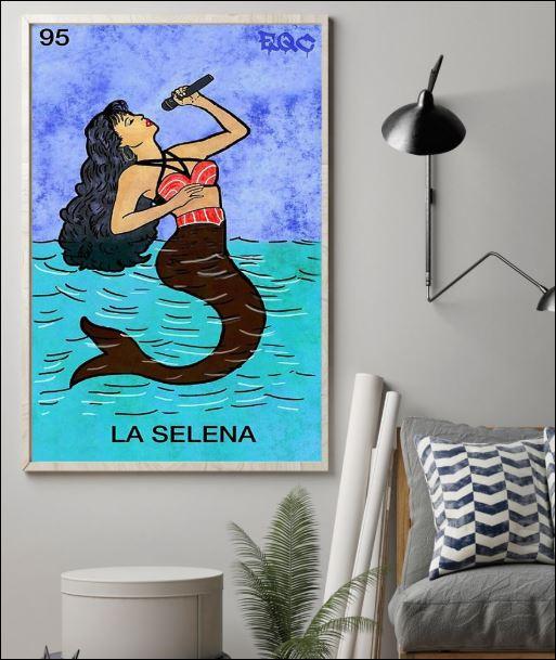 95 Selena mermaid poster 1