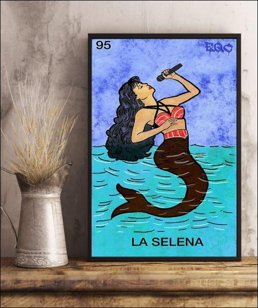 95 Selena mermaid poster 3