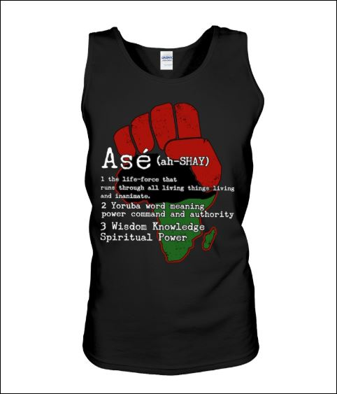 Ase definition the life force that runs through all living things living and inanimate tank top