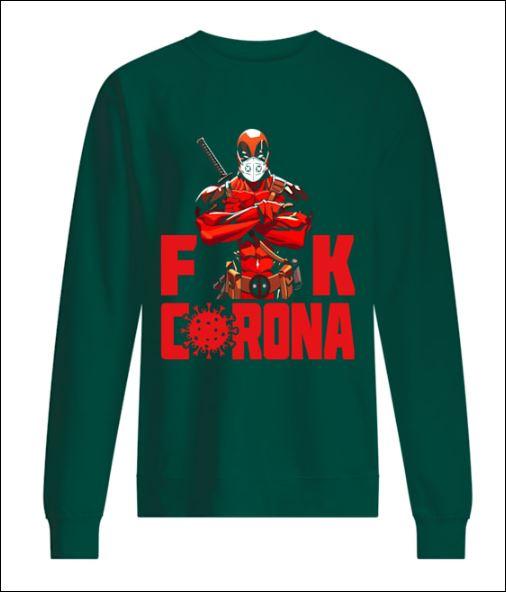 Deadpool fuck corona sweater