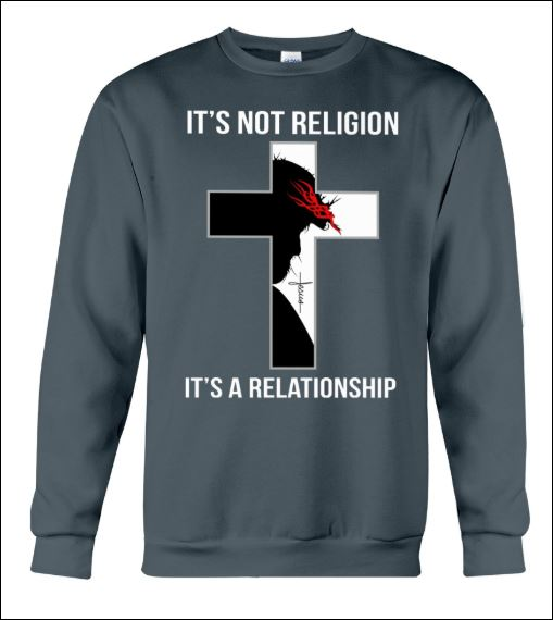 It's not religion it's a relationship sweater