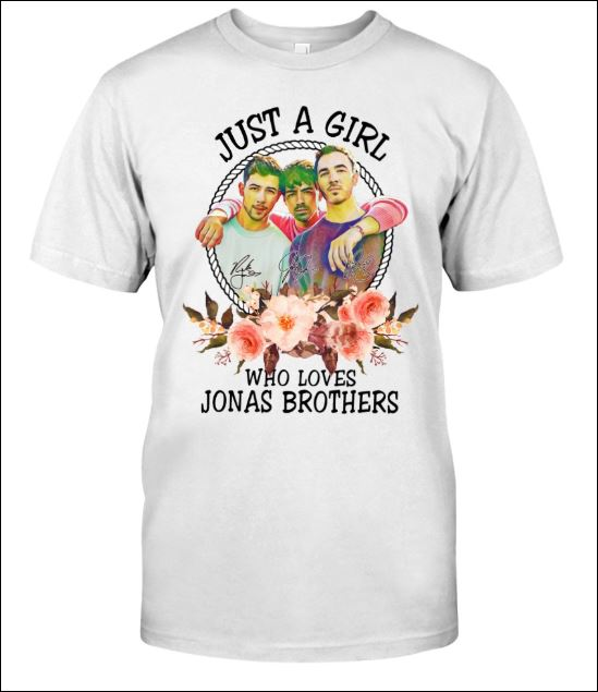 Just a girl who love Jonas Brothers shirt