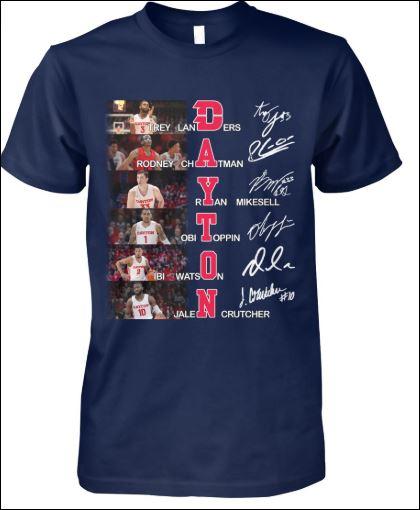 Landers Chatman Mikesell Toppin Watson Crutcher Dayton signatures shirt