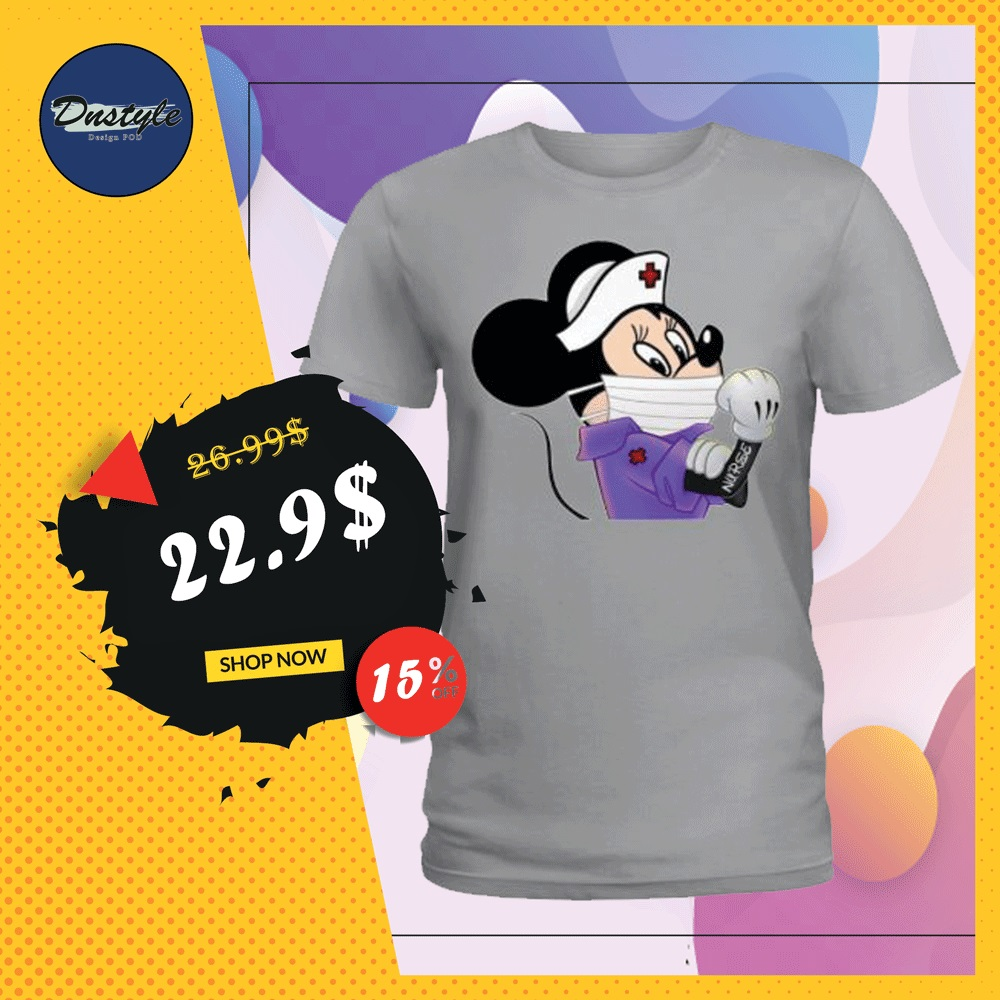 Minnie Mouse nurse stay strong shirt