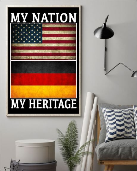 My nation my heritage poster