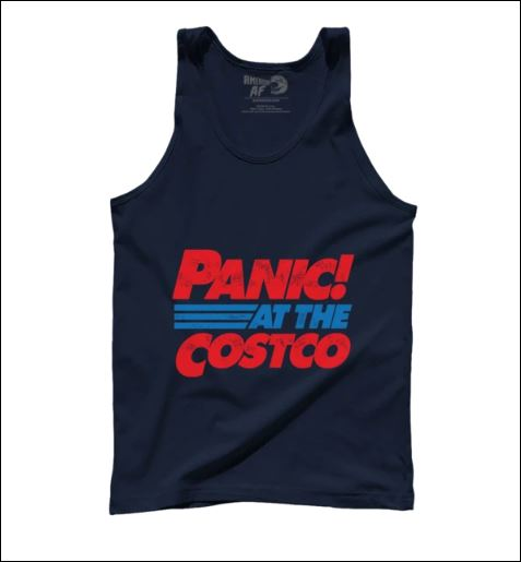 Panic at the costco tank top