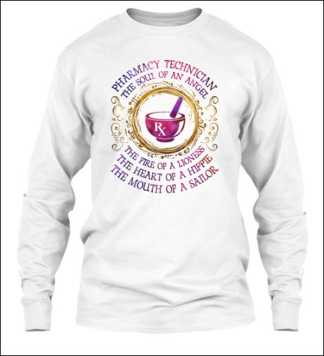 Pharmacy technician the soul of angel long sleeved