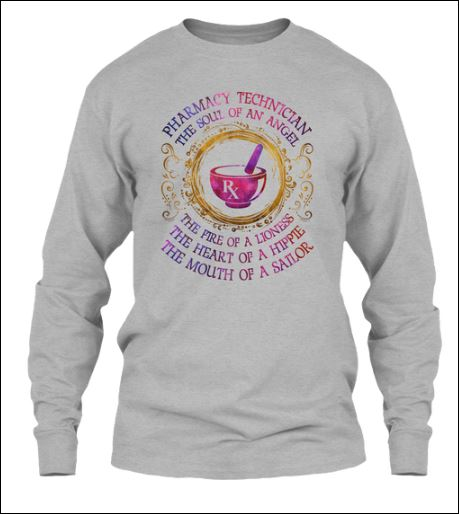 Pharmacy technician the soul of angel sweater