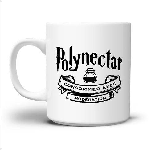 Polynectar consommer avec moderation mug