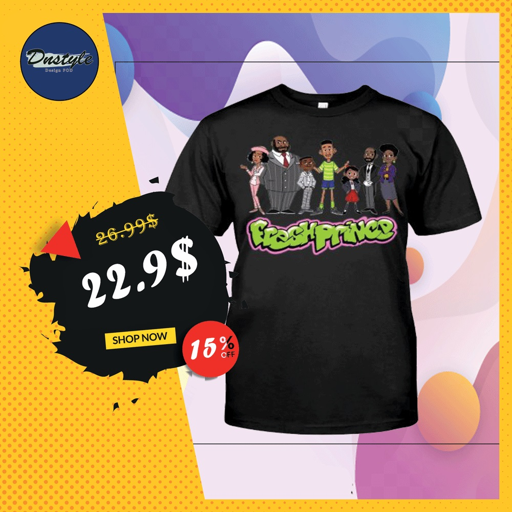 The Fresh Prince of Bel-Air characters shirt