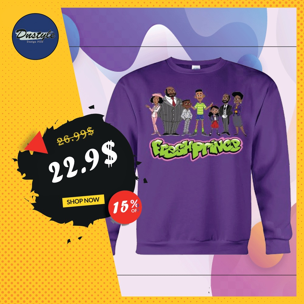 The Fresh Prince of Bel-Air characters sweater