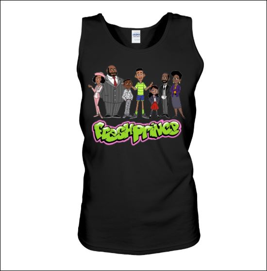 The Fresh Prince of Bel-Air characters tank top