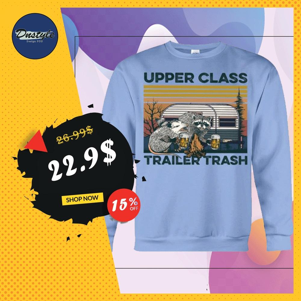 Upper class trailer trash vintage sweater