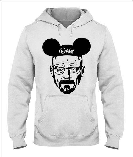 Walter White and Mickey Mouse hoodie