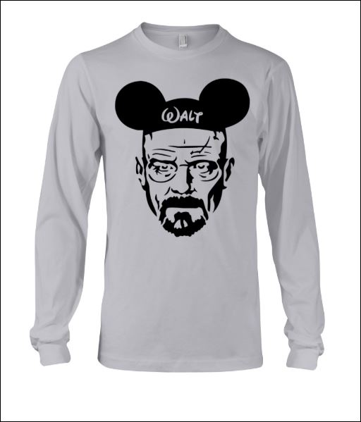 Walter White and Mickey Mouse long sleeved