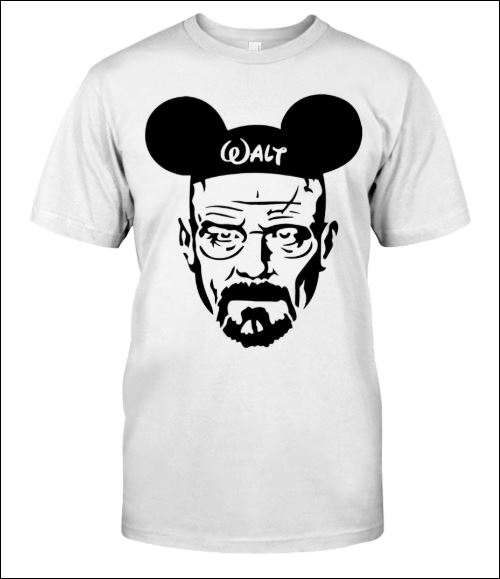 Walter White and Mickey Mouse shirt