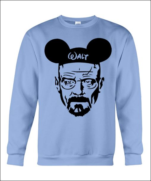 Walter White and Mickey Mouse sweater