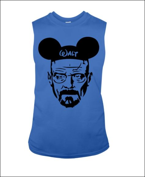Walter White and Mickey Mouse tank top