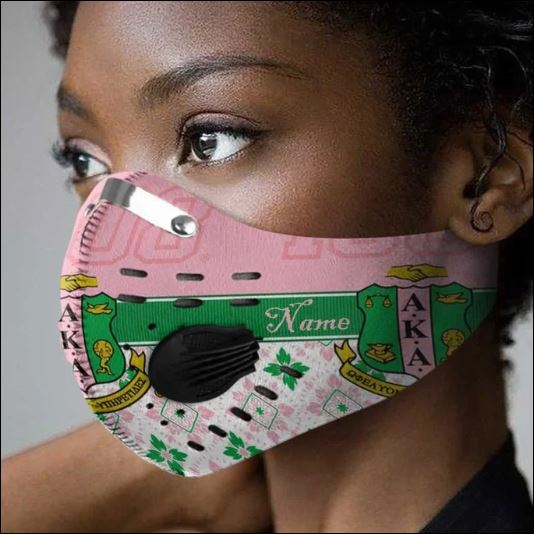 AKA 1908 filter activated carbon Pm 2.5 Fm face mask