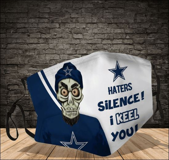 Achmed Dallas Cowboys haters silence i keel you face mask