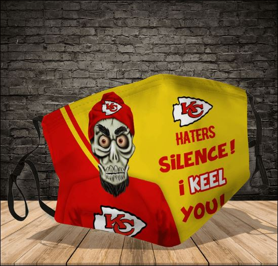 Achmed Kansas City Chiefs haters silence i keel you face mask