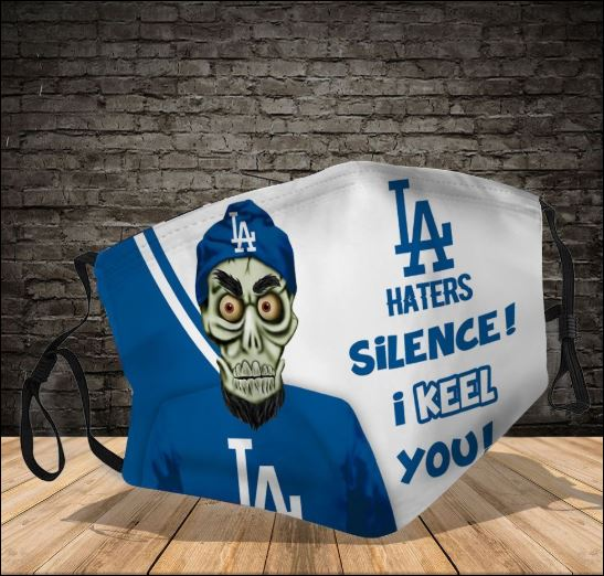 Achmed Los Angeles Dodgers haters silence i keel you face mask