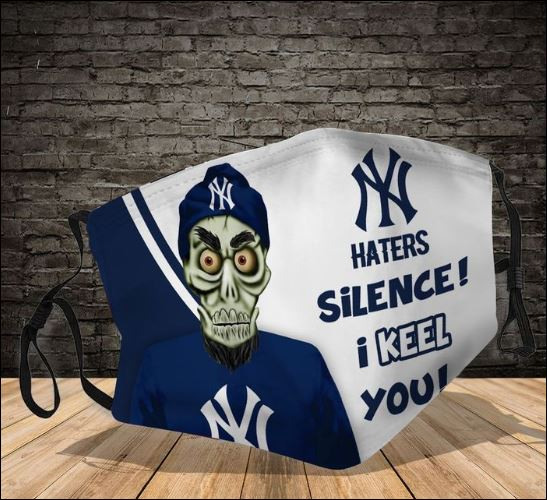 Achmed New York Yankees hater silence i keel you face mask