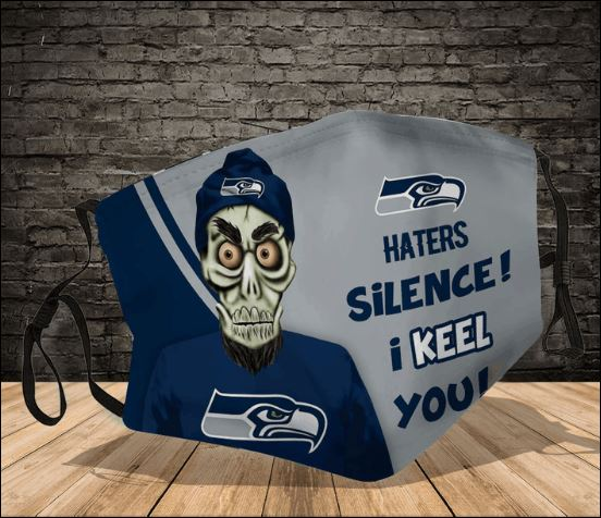 Achmed Seattle Seahawks haters silence i keel you face mask