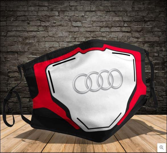 Audi logo face mask