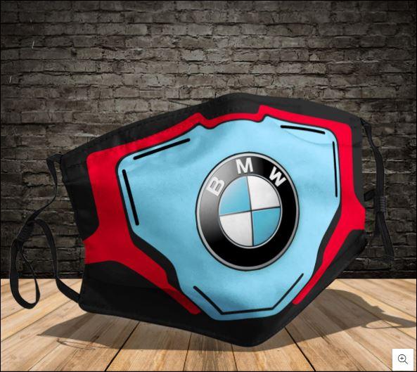 BMW logo face mask