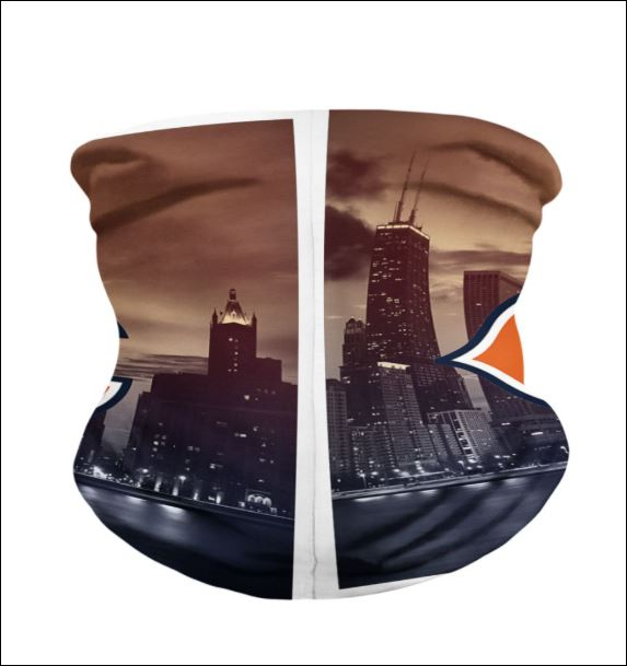 Chicago Bears neck gaiter back