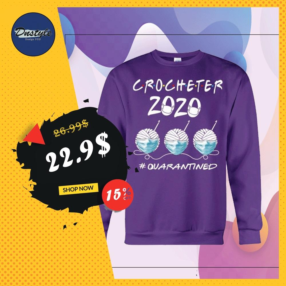 Crocheter 2020 quarantined sweater