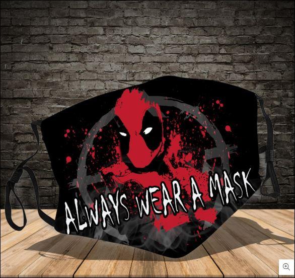 Deadpool always wear a mask face mask