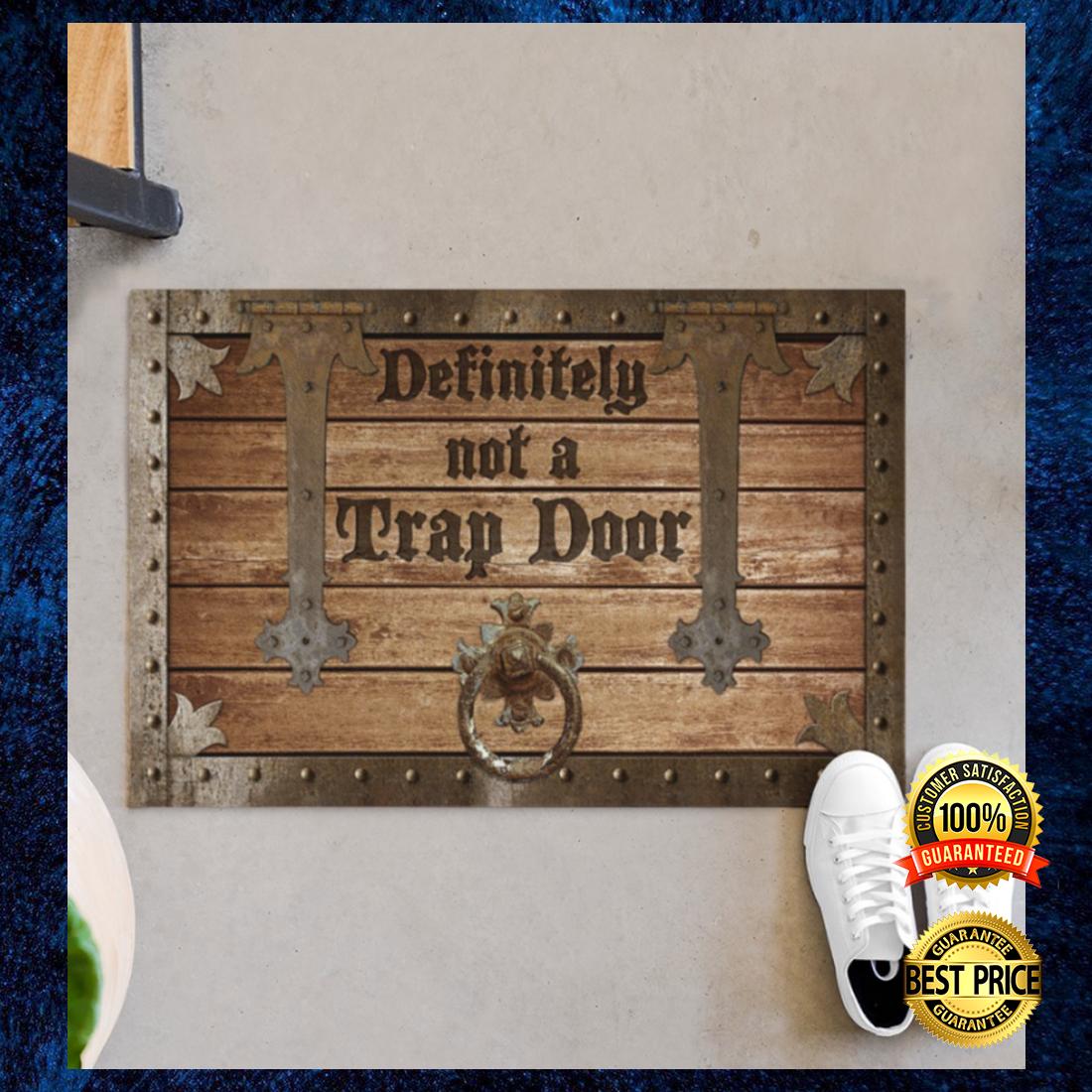 Definitely not a trap door doormat 4