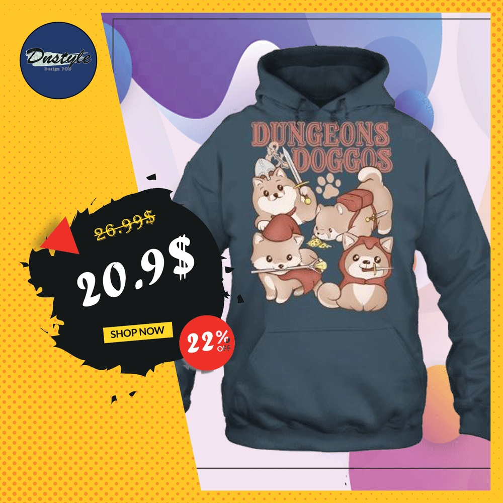 Dungeons doggos hoodie