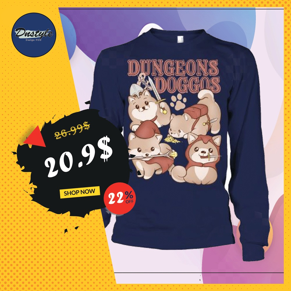 Dungeons doggos long sleeved