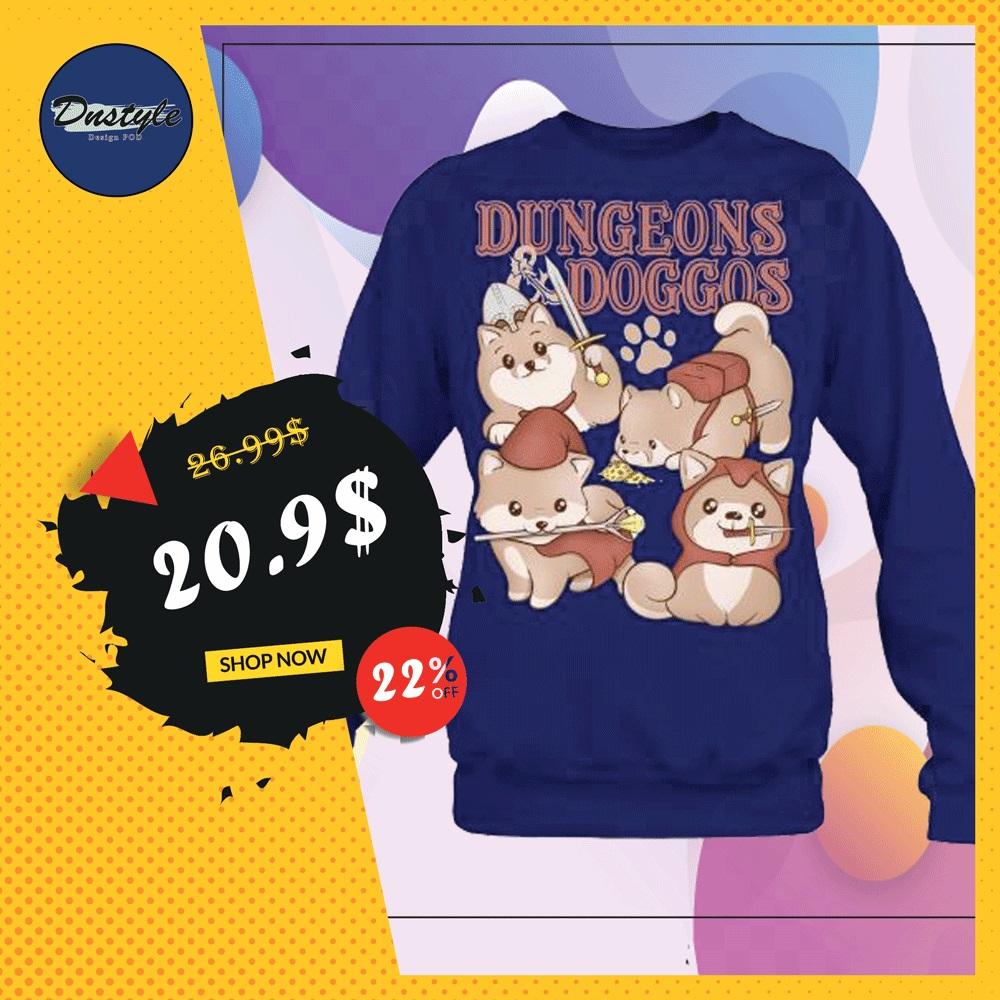 Dungeons doggos sweater
