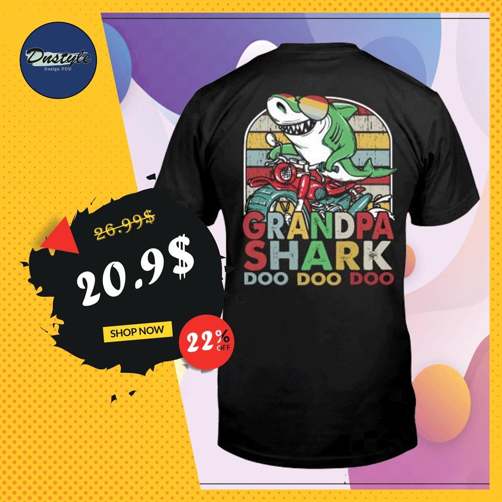 Grandpa shark doo doo doo vintage shirt