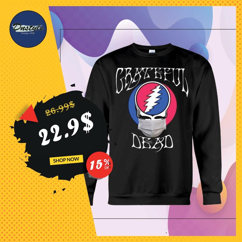 Grateful dead logo wear mask sweater