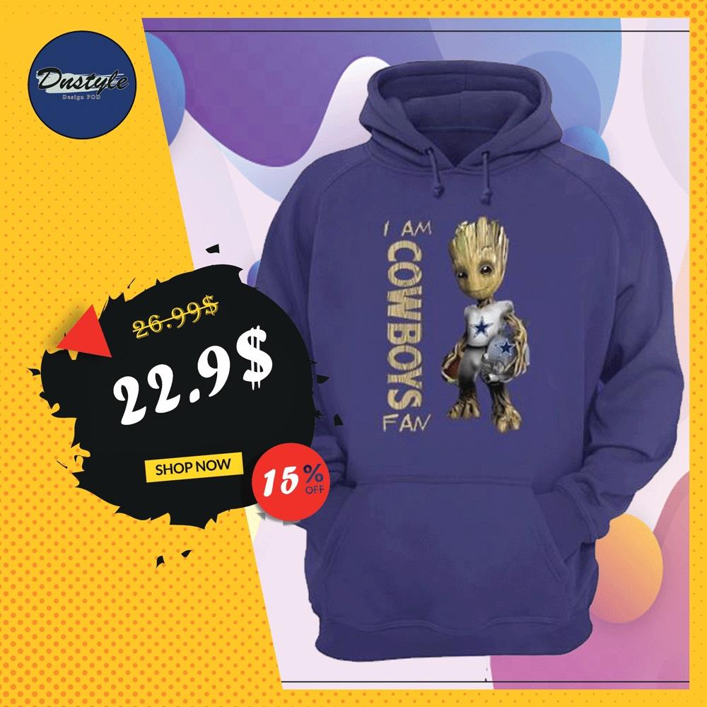 Groot i am Cowboys fan hoodie