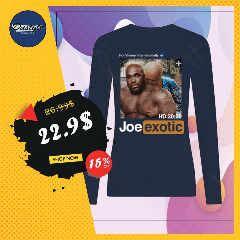 Hot videos internationally Joe Exotic HD long sleeved