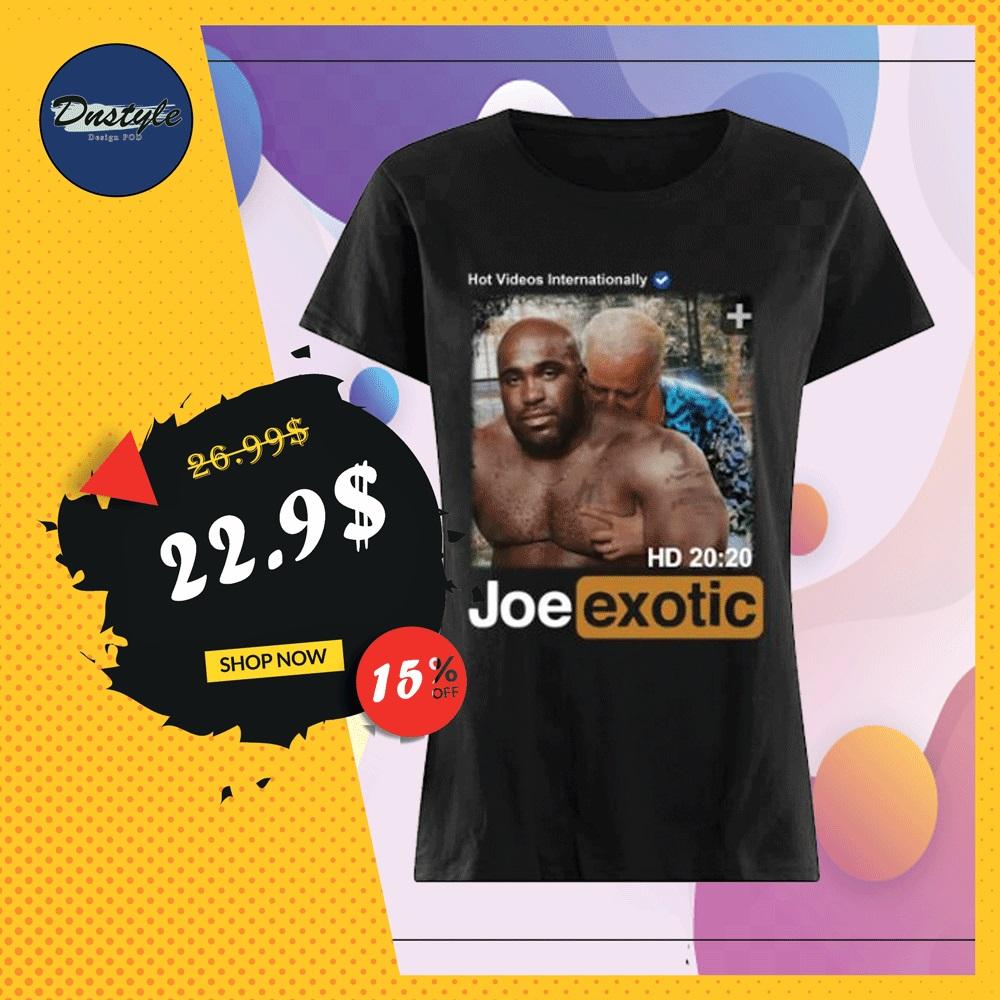 Hot videos internationally Joe Exotic HD shirt