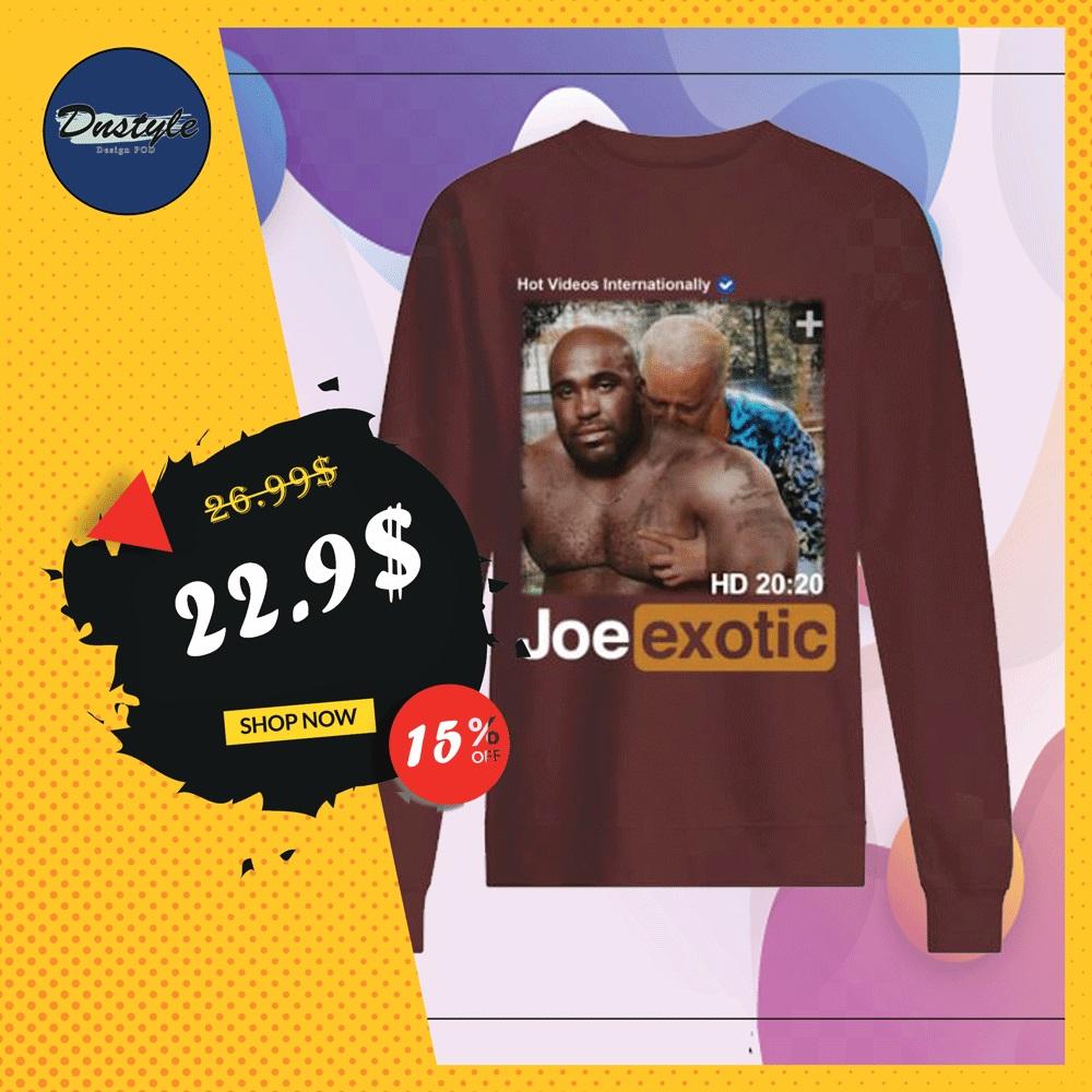 Hot videos internationally Joe Exotic HD sweater