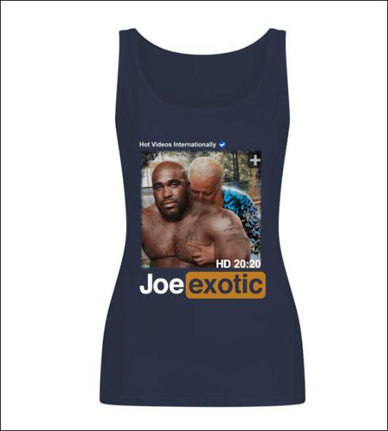 Hot videos internationally Joe Exotic HD tank top