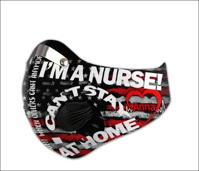 I'm a nurse i can't stay at home activated carbon Pm 2.5 Fm face mask