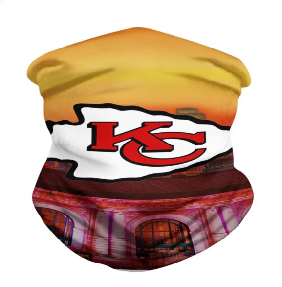 Kansas City Chiefs neck gaiter