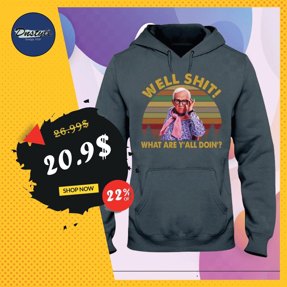 Leslie Jordan well shit what are y'all doin' vintage hoodie