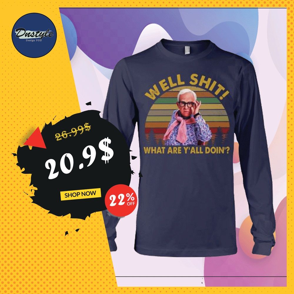 Leslie Jordan well shit what are y'all doin' vintage long sleeved