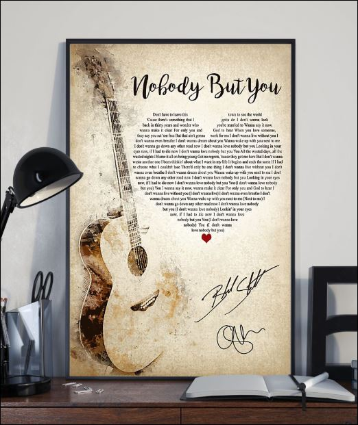 Nobody But You Lyric Blake Shelton Signature Poster Www.kellyprice.com search amazon for nobody but jesus mp3 download browse other artists under k: dnstyles