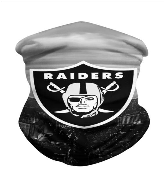 Oakland Raiders neck gaiter
